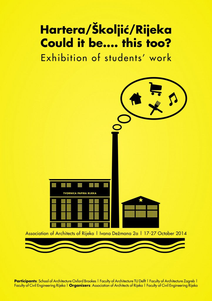 2014 1117 Expo TUDelft Students - Association of Architects of Rijeka (Flyer)-EN